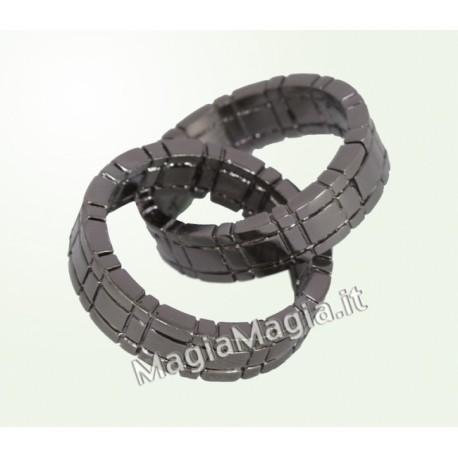 Anelli concatenati Himber ring ( Color canna di fucile )