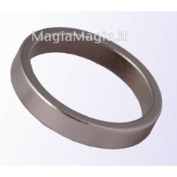 Anello magnetico sottile 19mm diametro interno pk ring silver