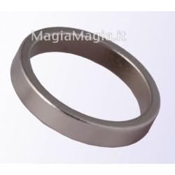 Anello magnetico sottile 19mm diametro interno pk ring silver