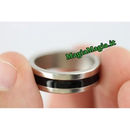 Anello magnetico con riga nera ( Diametro interno 19 mm )