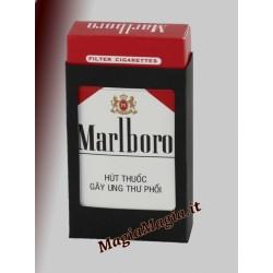 Pacchetto di sigarette che sparisce