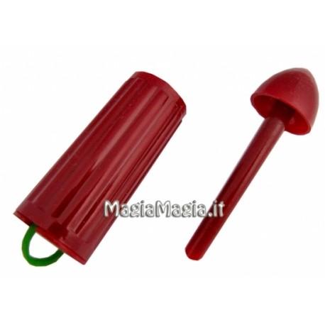 Aggancia l\'elastico rosso