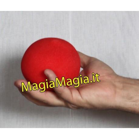 Pallina di spugna gigante 10cm + 2 palline di spugna diam 4 cm