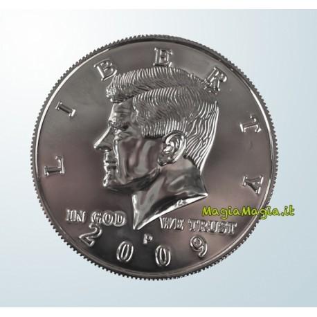 Mezzo dollaro gigante moneta (Delux con zigrinatura)