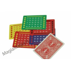 Gioco dei numeri carte colorate 1-60