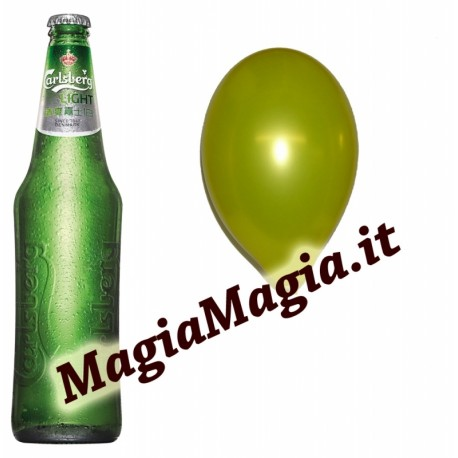 Bottiglia nel palloncino