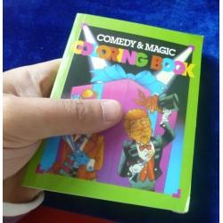 mini libro che si colora ( clown e mago in copertina )