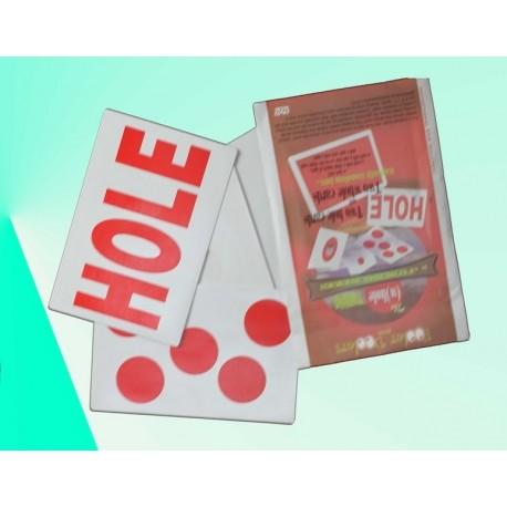 Hole gioco di carte grandi con buchi