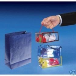 Fiori dalla busta ( busta blu )