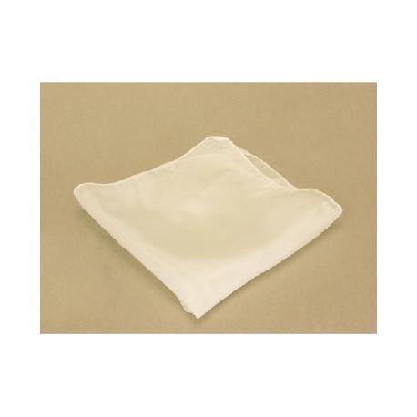 Fazzoletti di seta 21cm x21 cm ( bianco)