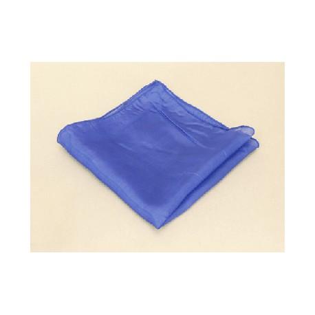 Fazzoletto di seta 32 cm x32 cm ( blu )
