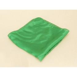 Fazzoletto di seta 32 cm x32 cm ( verde)