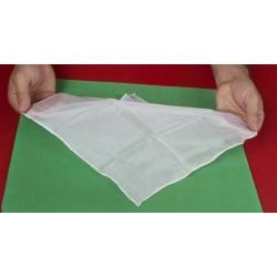 Fazzoletto di seta 27x27 (Bianco)
