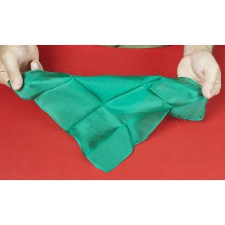 Fazzoletto di seta 27x27 (Verde)