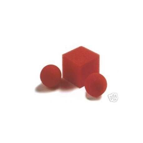 Palline di spugna in cubo