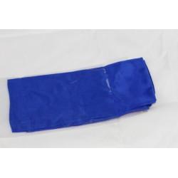 Fazzoletto di seta blu 60x60