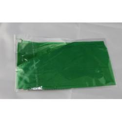 Fazzoletto di seta verde 45x45