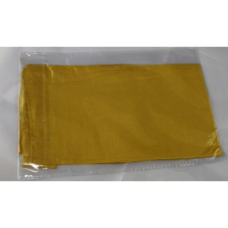 Fazzoletto di seta giallo 45x45