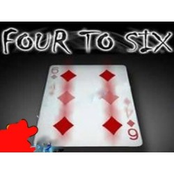 Da quattro a sei four to six 4 a 6 ( Con carta Rossa )