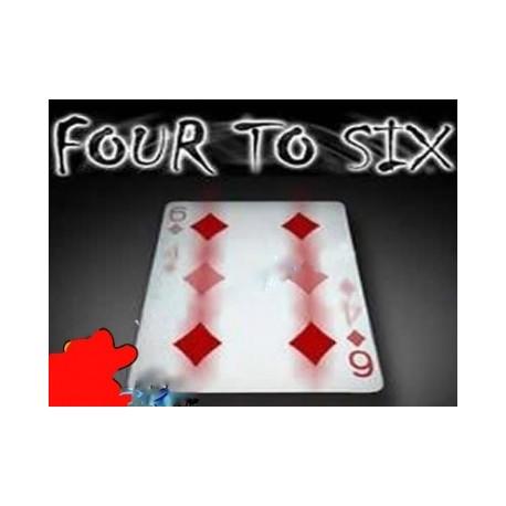 Da quatro a sei four to six 4 a 6 ( Con carta Rossa )
