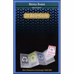 Catalogo delle carte in 3D