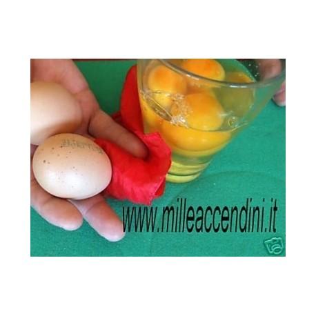 Foulard in vero uovo