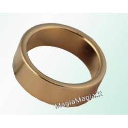 Pk ring Anello magnetico piatto color oro 20 mm diametro interno