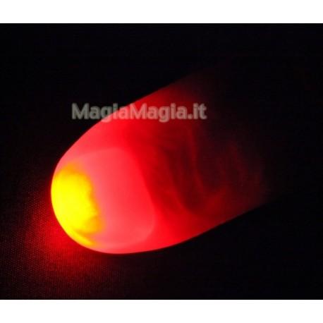 2 dita luminose a luce rossa (junior Lady)