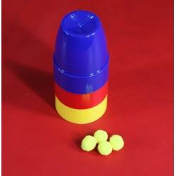 Bussolotti piccoli in plastica