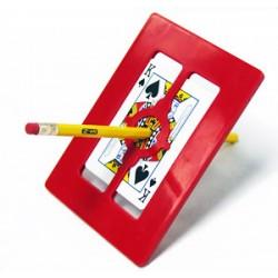 Cornice magica Penna attraverso la Carta Giochi di Prestigio
