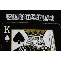 Maglietta del Mago ( taglia L corrisponde a una nostra XL ) con k di picche