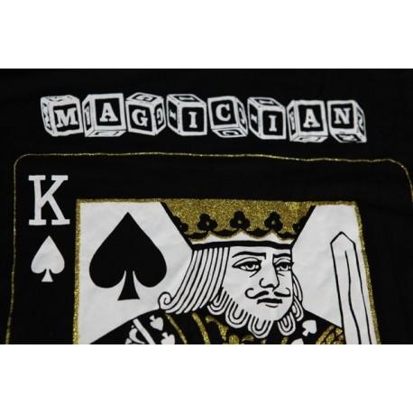 Maglietta del Mago ( taglia M corrisponde a una nostra L ) con k di picche davanti