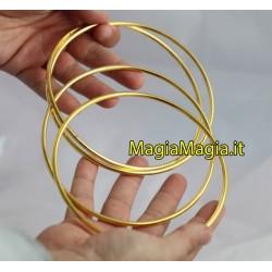 Anelli cinesi diametro 14 cm (dorati color oro )
