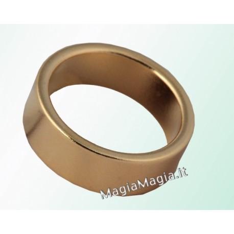 Pk ring Anello magnetico piatto color oro 19 mm diametro interno